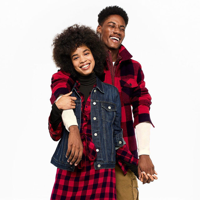 Because you know me better than I know myself. Plaid is the perfect holiday give/get. Swipe to shop our top picks. #GiveGap