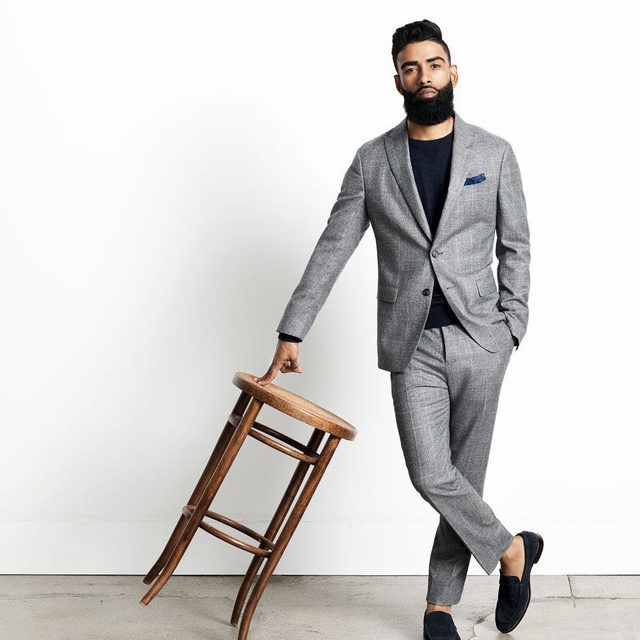 Own the room. (A well-crafted suit will help you with that.)