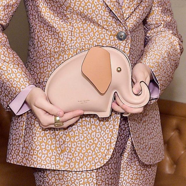 hold me closer, tiny elephant 🐘 #katespade #loveinspades