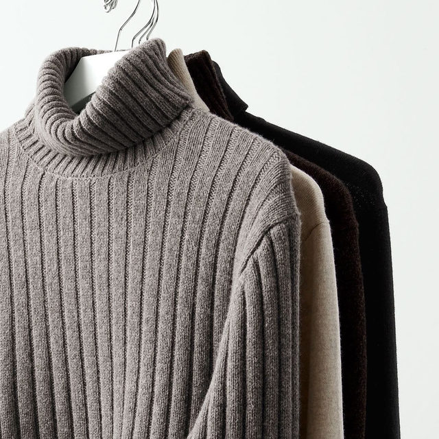 Whether layered under a smart blazer or worn as solo player, the turtleneck is your ticket to effortless cool—not to mention extreme warmth.