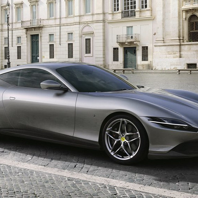 Ferrari has just introduced a new car: the Roma. It's a sleek coupe packing a 3.8-liter twin-turbo V-8 making 612 horsepower, sending power to the rear wheels via the SF90 Stradale's new eight-speed dual-clutch transmission. The 0-62 mph sprint happens in just 3.4 seconds, and top speed is 198 mph. Are you into the new design?