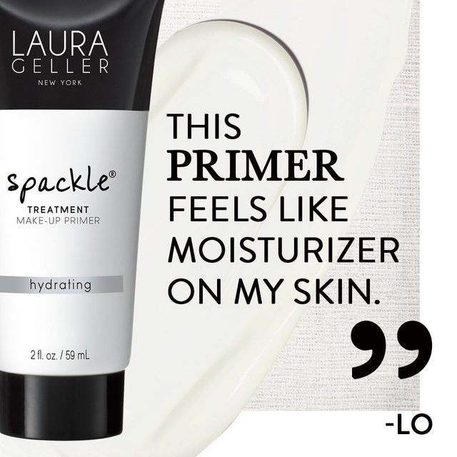 Keep your skin hydrated and moisturized during the cold months with our Spackle Treatment Hydrating Make-Up Primer ✨✔️ . . . #lauragellerbeauty #spackleprimer #makeupprimer #hydratingprimer #skincare101 #lauragellerspackle