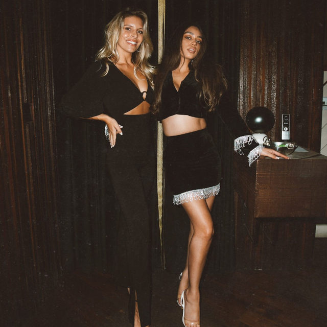 @tashoakley & @janicejoostemaa ready for a night out in their @camilacoelhocollection looks - link in bio to shop #myCClook