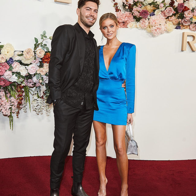 I meaaaaaan 🥰 how cute are they?! @hannahg11 @dylanbarbour #REVOLVEawards