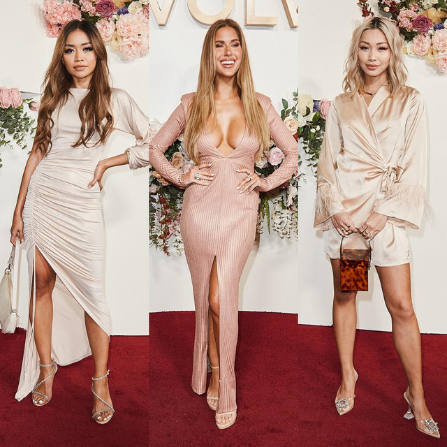send nudes ✨ @paudictado @karajewelll @flamcis giving us their best neutral looks #REVOLVEawards - link in bio to shop