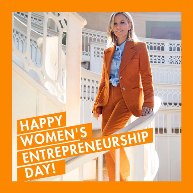 This #WomensEntrepreneurshipDay, I'm inspired by the women entrepreneurs we work with daily through the @toryburchfoundation - link in bio to learn more