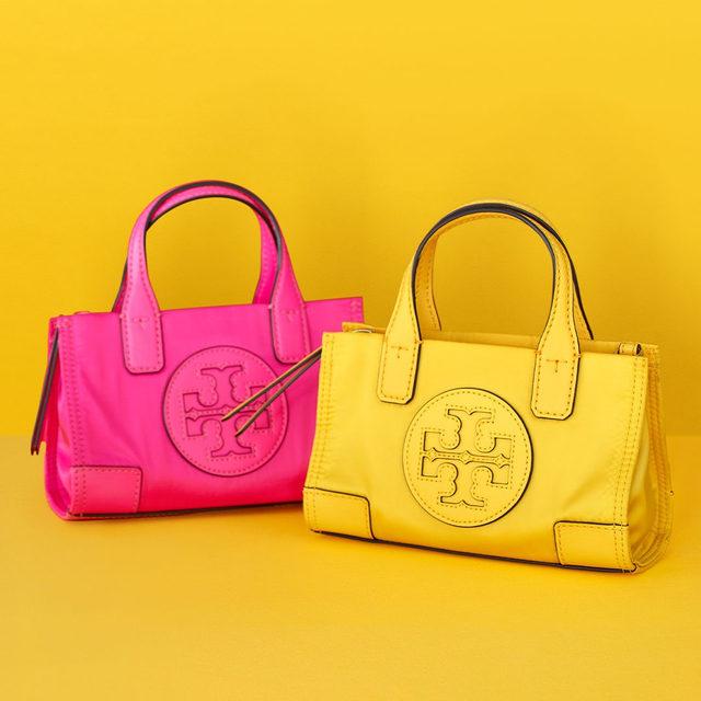 Must-have mini bags — the Ella Micro Tote #ToryBurchHoliday19 #ToryBurchinColor #ToryBurchBags #ToryBurch