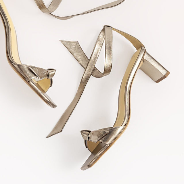 Meet the Pillar Heel, that combined with a square-toe shape elevates any look. #AlexandreBirman #Sandals