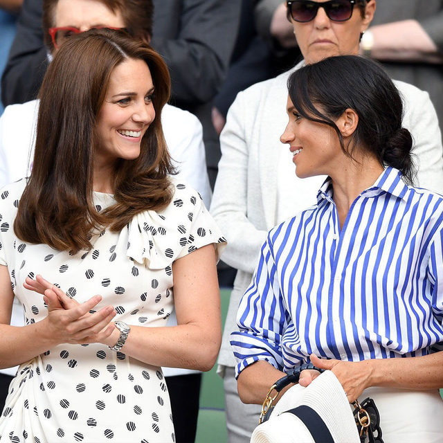 "Kate Middleton and Meghan Markle reportedly hate being pitted against one another (honestly, wouldn't you?). Read why rumors of their ""feud"" have been greatly exaggerated—link in bio."