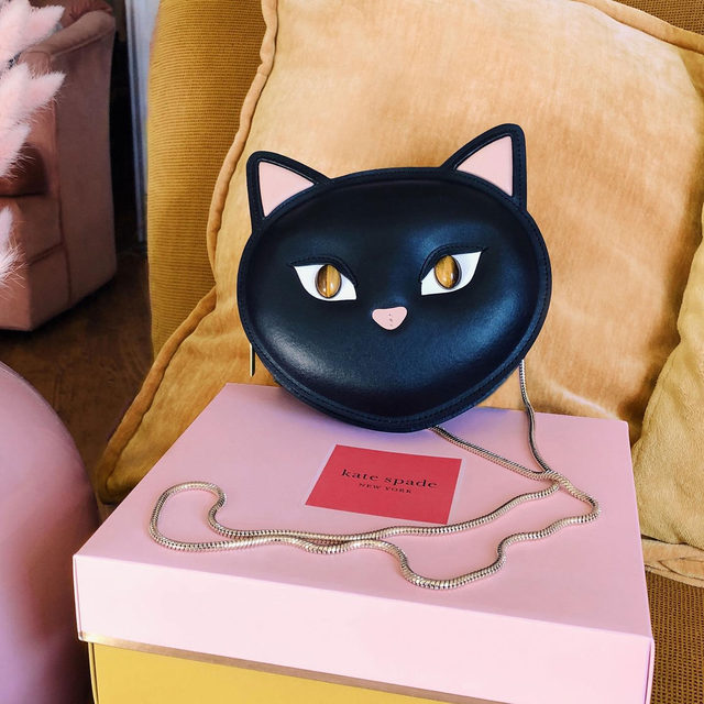 feline lucky? 🐱 we're gifting 10 cool cats a limited-edition CATS x kate spade new york crossbody and 2 tickets to see @catsmovie, in theaters December 20. enter for your chance to win by tagging a fur-end in the comments below with #sweepstakesentry  the fine print: no purchase necessary, legal residents of the us, 18 years or older. ends 12/01/2019. for official rules, visit https://www.katespade.com/terms-conditions-2/ #katespade #loveinspades