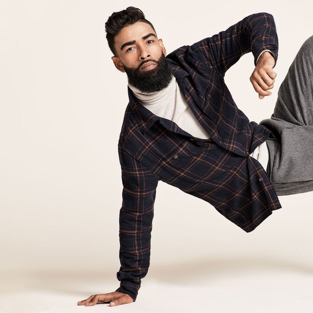 Flannels so cozy—guaranteed to make you do your own end zone dance.