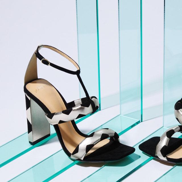 Introducing the SS20 collection:  Meet the Pamela Sandal #AlexandreBirman #Sandals