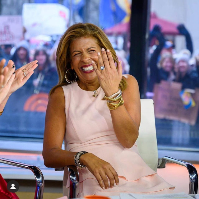 Congrats to @hodakotb 💍 Link in bio for details on her big on-air announcement at the @todayshow!