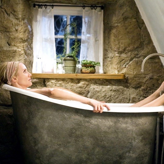 This could be you, seriously. If you're going through a breakup, tap the link in bio to win a trip inspired by 'The Holiday.' And if you're not, tag a single friend who could use a vacay 🛁🎄