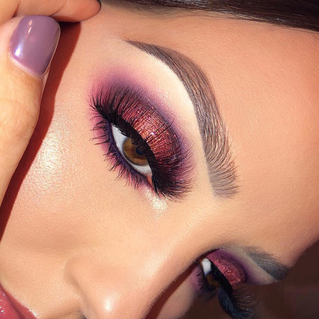 We are LIVING for these cranberry toned looks! 😍  Who else is planning on creating a look for your Thanksgiving dinner? 👇  ✨ @whitneykshepherd killed it with this look using our Fluff Yeah! lashes from our Fluff'n Glam collection! Looking for more inspo? ✨  Keep an eye out for our upcoming story to see a VelourHQ tutorial 😘  🖤 BLACK FRIDAY ALERT: Get 30% off sitewide on all your favourite lashes - tap to shop now! 🖤  #VelourLashes #VelourBeauty #LiveInLashes #BlackFridaySale