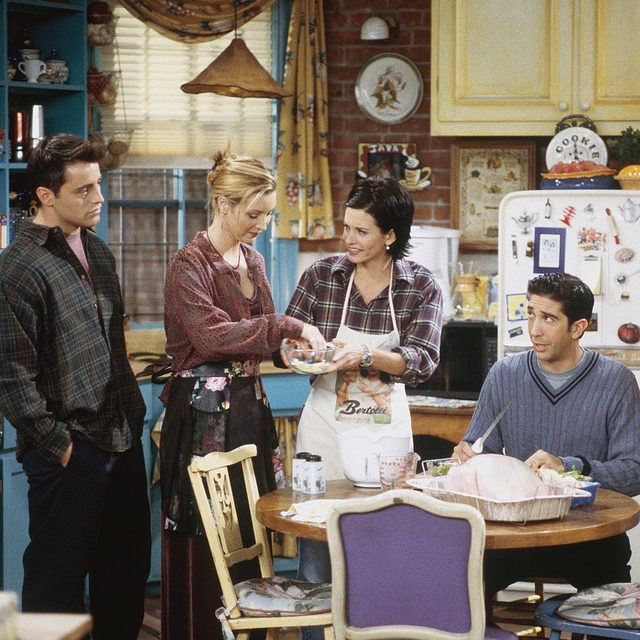 The one where we rank the best Turkey Day Moments 🦃. Link in bio for our definitive list of the best and worst 'Friends' #Thanksgiving episodes.