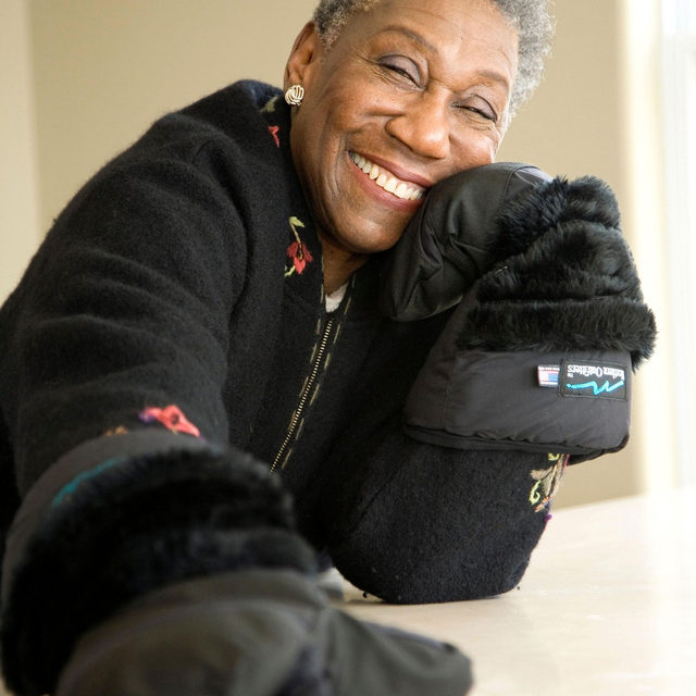 "Barbara Hillary, the first African-American woman to travel to the North Pole, has died, at age 88. In an interview in July, Hillary told Lauren Collins that she was dreaming of her next trip, to Russia, even though her health had not been good. ""Dreams, even if they don't come true, are important,"" she said. ""Isn't it great to maintain a dream or a memory? I can close my eyes and still see the wonderful mountains in Antarctica—contrary to public opinion, it is mountainous in places, and they're blue-gray, and there's the joy of silence."" Tap the link in our bio to read more. Photograph by Katja Heinemann / Alamy."