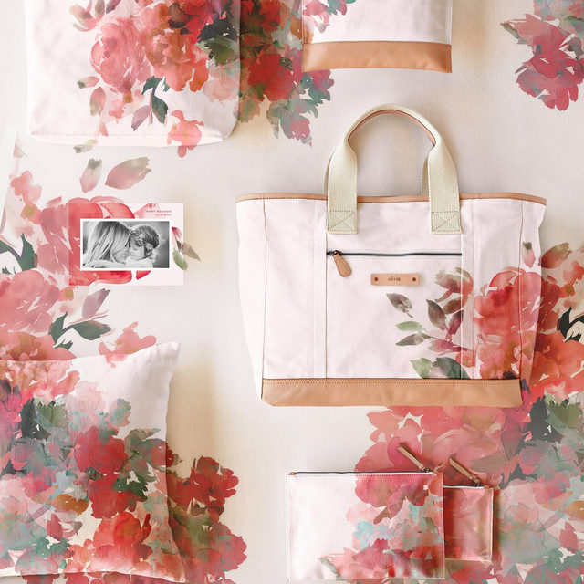 """Patterns on patterns—shop customizable gifts for everyone on your list. #mintedholiday — """"Floral Bouquet"""" design by @loriwemple."""