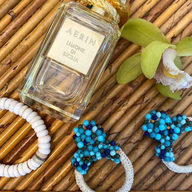 Sunshine style with AERIN Limone Sicilia and @bibimarini and @yenden_collection #AERINMiami