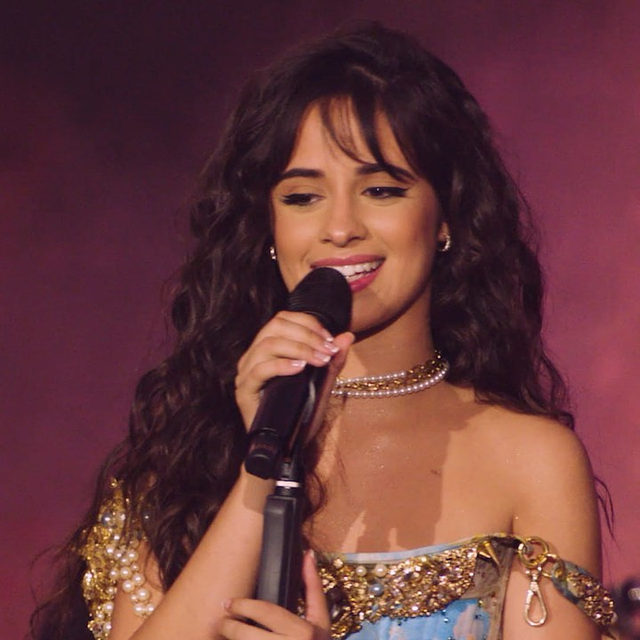 @camila_cabello performs some of her biggest hits for an intimate audience. 🌹 Watch Camila Cabello Live: New Music Daily Presents now. Link in bio.