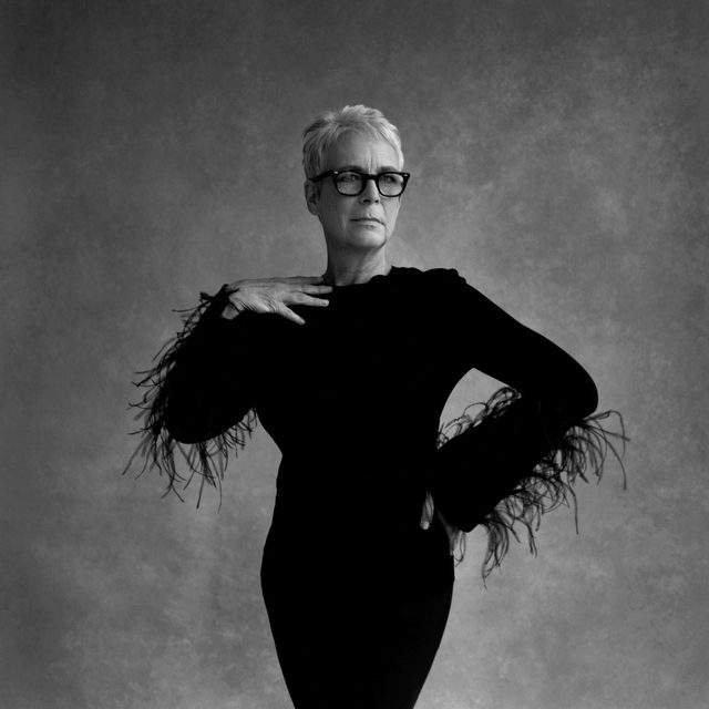 "Jamie Lee Curtis's new film, ""Knives Out,"" is a murder mystery. She rose to fame in the now-classic horror movie ""Halloween."" But she can't stand to be frightened. ""I am the anti-mystery girl. I don't like horror films,"" she told @rachsyme. ""I would cover my ears, close my eyes, curl up in a little ball, and sing 'Au Clair de la Lune' in my head."" At the link in our bio, the actress and writer discusses addiction, beauty standards, having famous parents, discovering her husband in the pages of Rolling Stone, and her encounters with Bette Davis. Photograph by @ninebagatelles for The New Yorker."