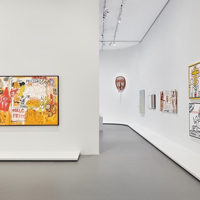 """Visit the National Gallery of Victoria, Melbourne, to see """"Keith Haring 