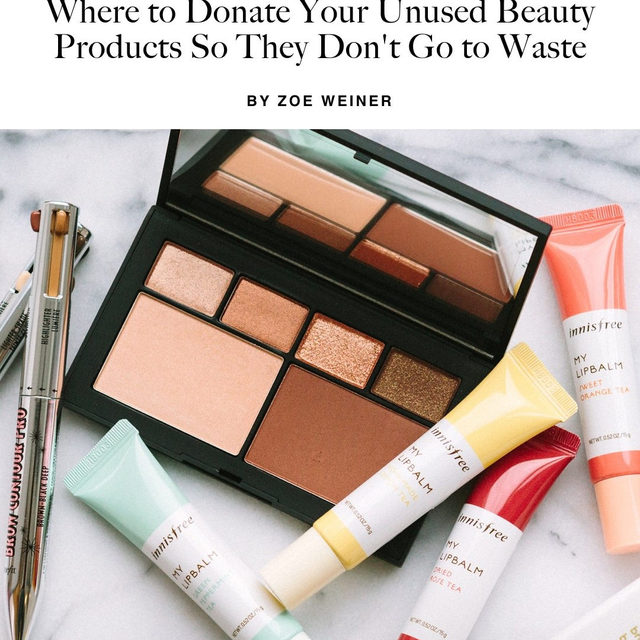 Today is #givingTuesday but beauty lovers can give back all year round. Link in bio for where to donate your unused or gently used products. #photo by @_hannahchoi