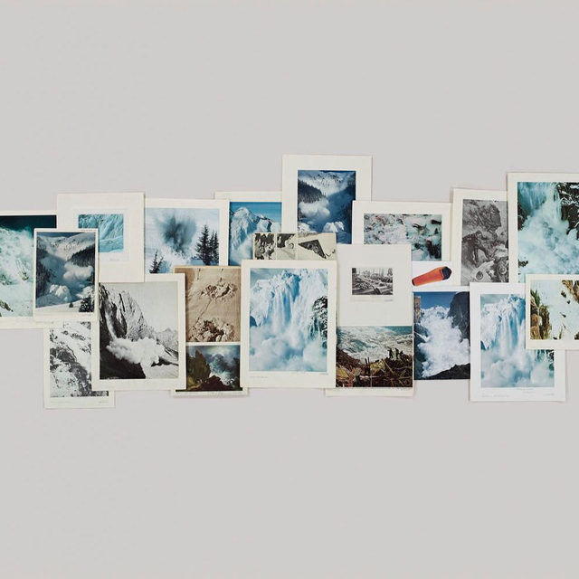 """Congratulations to Taryn Simon, who has been named a fellow of The Royal Canadian Geographical Society! The organization is dedicated to promoting and enhancing public awareness for Canadian geography, and to strengthening the bond between Canadians and their diverse and vast geographical heritage. __________ #TarynSimon #Gagosian Taryn Simon, """"Folder: Snow - Avalanches,"""" 2012 © Taryn Simon"""