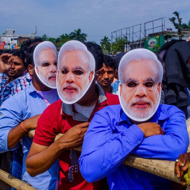 "Since Narendra Modi was first elected Prime Minister, in 2014, he has been recasting the story of India, from that of a secular democracy to that of a Hindu nation that dominates its minorities—especially the country's 200 million Muslims. Modi was the Chief Minister of Gujarat in 2002, when a series of violent Muslim-Hindu riots broke out, leaving as many as 2,000 people dead and nearly 150,000 displaced. ""No sectarian riot ever happens in India unless the government wants it to,"" a former senior federal official said. ""This was a state-sponsored massacre."" At the link in our bio, Dexter Filkins reports on how the riots inflamed sectarian violence and rhetoric in India—and laid the groundwork for Modi's rise to national power. Photograph by @arkodatto for The New Yorker."