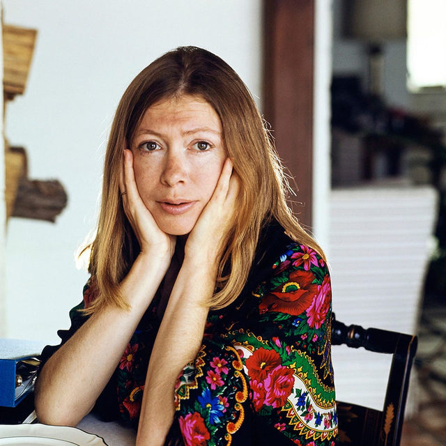 "On the occasion of Joan Didion's 85th birthday, Hilton Als writes about falling under the sway of her fiction in the spring of 1977. ""Her ways of thinking and of expressing herself were unlike anyone else's,"" he writes. At the link in our bio, read about Didion's early novels of American womanhood, which illuminate how she found and developed her authoritative literary voice. Photograph by Henry Clarke/Condé Nast/Getty."