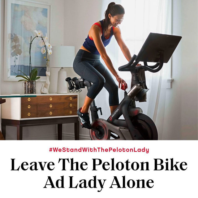 The controversial bike ad has people enraged, and while we're all for outcry about perceived sexism, the intense backlash says more about us than Peloton.  Link in bio.