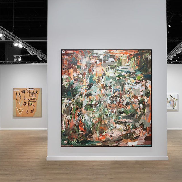 """#ArtBasel: The fair is now open! Visit Gagosian at booth D7 to see a selection of modern and contemporary artworks.  Concurrent with the fair, """"The Extreme Present,"""" a group exhibition presented by Gagosian and Jeffrey Deitch, is now open at the Moore Building. The show explores artists' reactions to the conditions of our accelerating and increasingly complex world.  To receive a PDF with detailed information on available works, please contact the gallery at inquire@gagosian.com. __________ #ArtBaselMiamiBeach #Gagosian  Installation views, Booth D7, Art Basel Miami Beach, December 5–8, 2019. All artworks copyrighted. Photos: Sebastiano Pellion di Persano"""