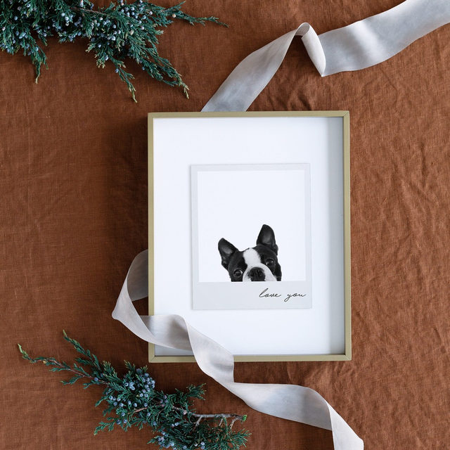 """Gift giving, made easy. 🎁 #MintedHoliday — """"Polaroid Snap"""" by Minted 📷"""