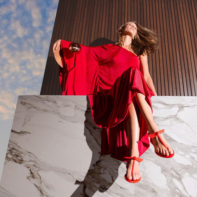 Meet the Jelly sandal in red. An unique and delicate shoe in an array of colors.  #AlexandreBirman