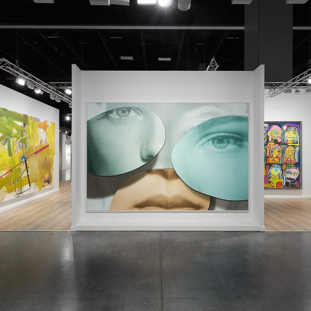 """#ArtBasel: Today is the last day of the fair! Stop by Gagosian's booth to see a selection of modern and contemporary artworks.  It is also the last chance to see """"The Extreme Present,"""" a group exhibition presented by Gagosian and Jeffrey Deitch, at the Moore Building in the Miami Design District. The show explores artists' reactions to the conditions of our accelerating and increasingly complex world.  To receive a PDF with detailed information on available works, please contact the gallery at inquire@gagosian.com. __________ #ArtBaselMiamiBeach #Gagosian Installation views, Booth D7, Art Basel Miami Beach, December 5–8, 2019. All artworks copyrighted. Photos: Sebastiano Pellion di Persano"""