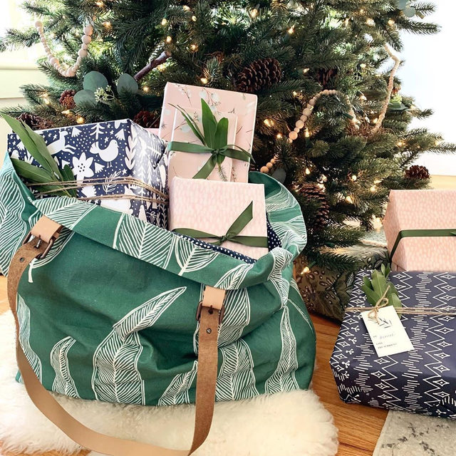 """On the third day of #MintedMoreDays, my true love (Minted) gave to me: 30% off + free shipping on custom totes and backpacks. This exclusive offer is only available to Minted More members ends tonight at 11:59pm PT. Link → bio to join Minted's loyalty program. #MintedHoliday — Photo @cityfarmhouse1 