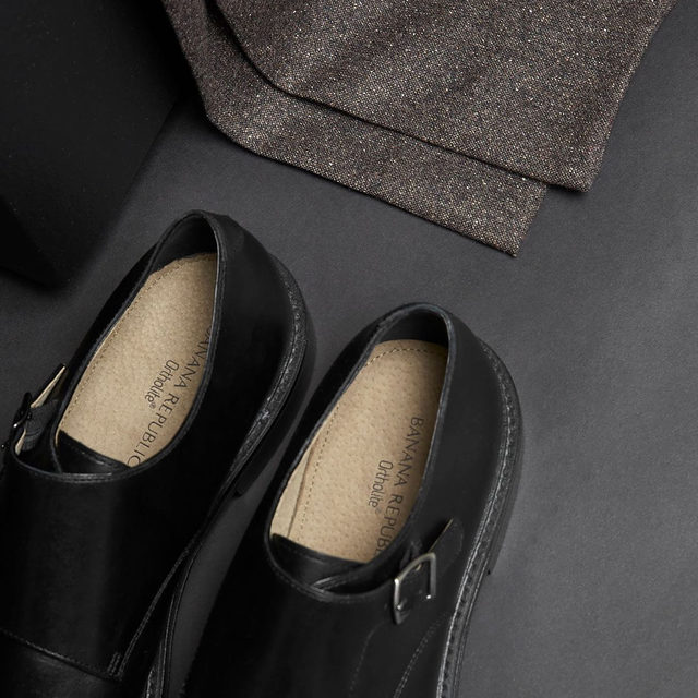 A fresh option for dressier occasions, these double monk-strap oxfords are crafted in luxe leather.