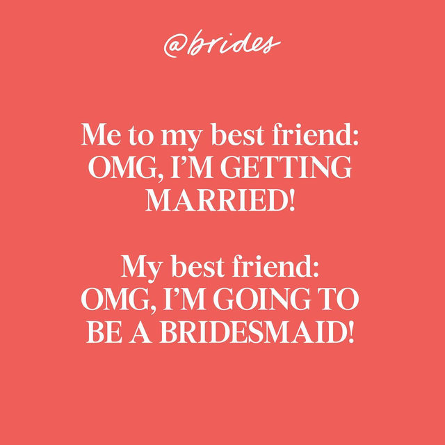 Tag that friend! 👯♀️Then head to the #linkinbio for 30 fresh and fun ways to pop the question to your bridesmaids! 👰🏽