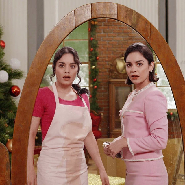 In honor of this bday girl, blessing your feed with not one, but two @vanessahudgens 👯‍♀️. Link in bio to read why we've crowned her our new queen of  the rom com 👑.