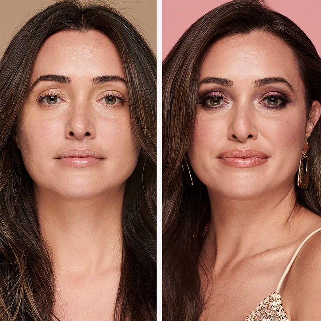 Before and after look using our The Weekender: Face, Eye & Cheek Palettes 😍✔️ Which palette from The Weekender is your favorite: ✨Flirty Friday ✨Saturday Style ✨Sunday Funday . . . #lauragellerbeauty #laurageller #theweekender #eyeshadowpalette #beforeandafter #beautylooks #holidaymakeup