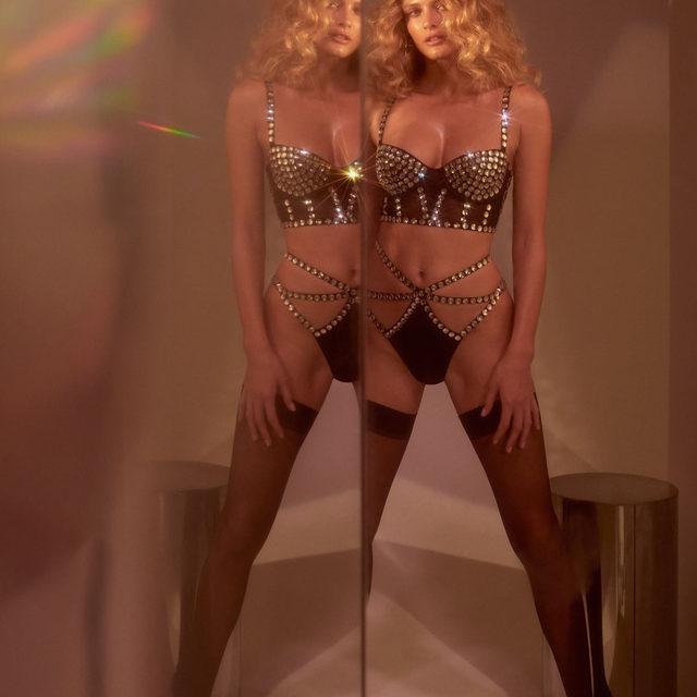 Had to do a double take | The Jackpot Long Line Bra & High-Waist Panty #FLLxVS