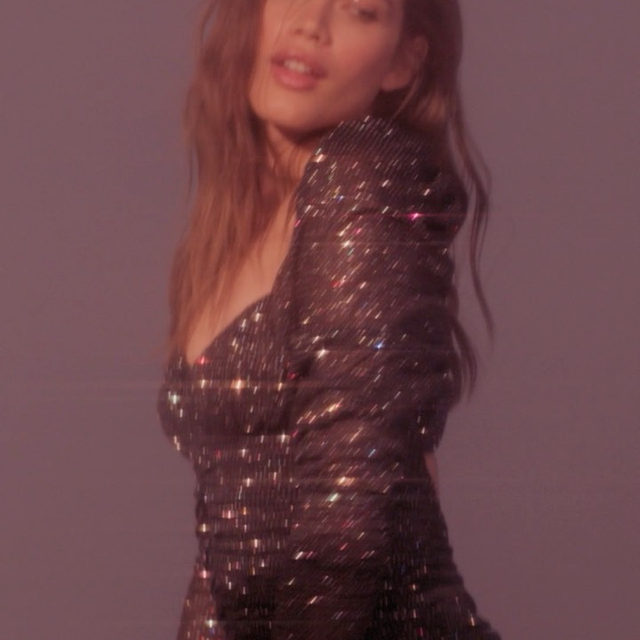 FYI - this dress wasn't made to sit still in | The All That Glitters Dress #FLLxVS  Don't see your size? More sizes and colors available on victoriassecret.com