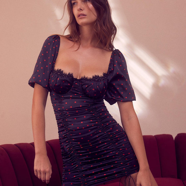 Afternoon lounge to late night out - no need to change out of the Melrose Dress #FLLxVS