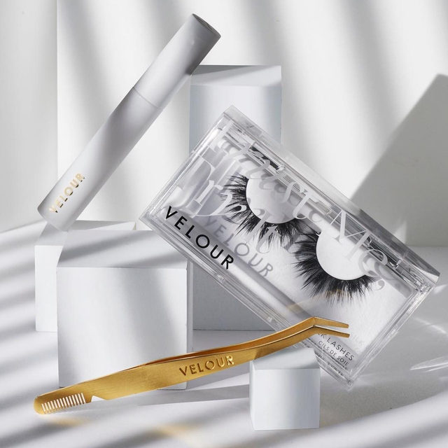 What's your favourite accessory from Velour Beauty?  We've got our best-selling clear Latex-Free Lash Adhesive, Black Lash Adhesive, our award winning Too Easy Lash Applicator, and Too Sharp Lash Scissors to cater to all your lash needs 😉❤️ Would you like to see a new accessory be part of the Velour fam in 2020? 🤩 ✨Tap to shop or pick up your next Lash Adhesive replenishment with your lashes at a @sephora near you ✨  #VelourBeauty #VelourLashes #Sephora #LiveInLashes