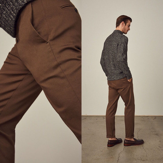 TRAVELER CHINO | 20 PIECES FOR 2020 | Featuring elements of performance.  We get it—you're busy. These styles do the heavy lifting for you.