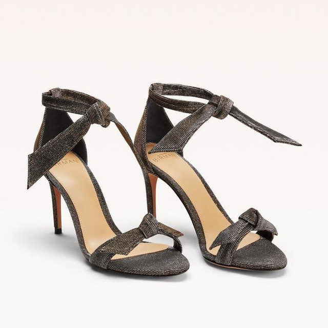The iconic Clarita sandal in stellar. #AlexandreBirman #Sandals
