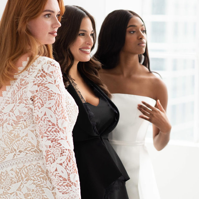 The perfect stylish fit for every woman. Ready to find out more? #AshleyGrahamXPronovias ✨