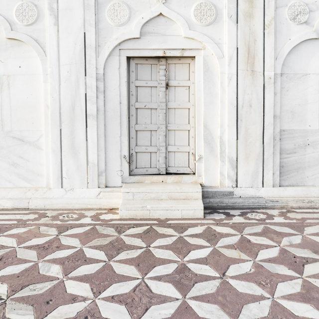 "To new doors and new adventures this year. — ""Palace Walk 1"" #MintedArt @photo_kamala"