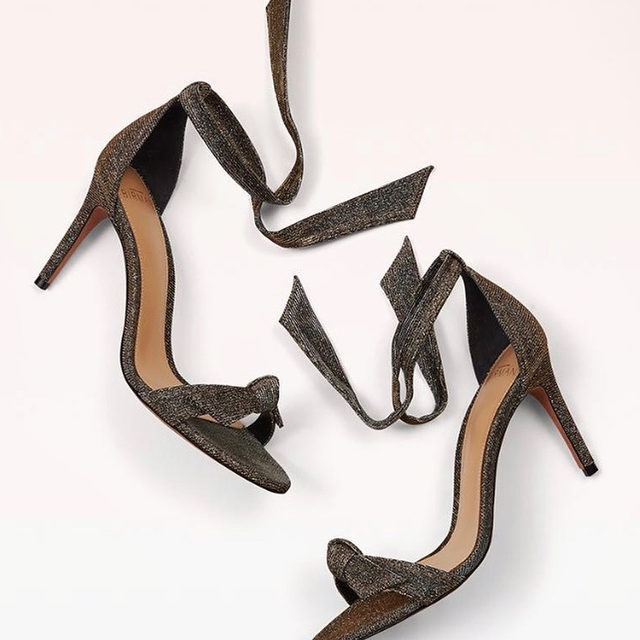 Our iconic stellar Clarita sandal and its unique shimmer. #AlexandreBirman #Sandals #Clarita