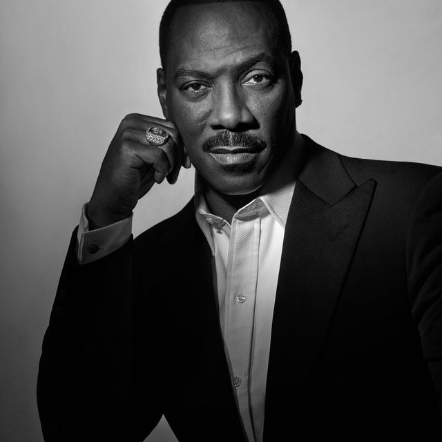 """Dolemite is My Name signifies the grand resurgence of Eddie Murphy in Hollywood, but the comedian isn't one to let an eyes-on-the-prize mentality define him: """"My career, or what I am as an artist, that's not at the center of my life. At the center of my life is my family and my kids. That's the principal relationship, and everything comes after that."""" Read more at the link in bio. - Photographed by @ethanjamesgreen Styled by @samiranasr"""